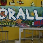 """insegna """"corallo"""" in polistirene"""